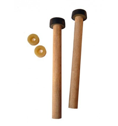 Wood sticks for Spacedrum