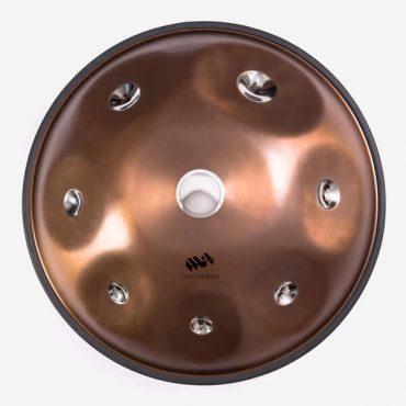 Stainless steel handpan Spacedrum Nitro with 8 notes